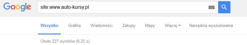 Liczba zaindeksowanych podstron w wyszukiwarce Google - 20 września 2016