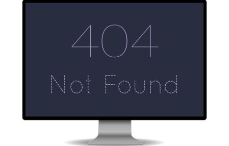 Błąd (error) http 404, a pozycje w Google